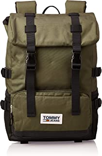 Tommy Hilfiger Backpack for Men-Olive Night