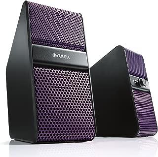 雅马哈 强力扬声器 (左右1组) 紫色 NX-50(V)