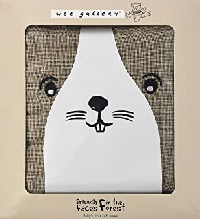 Wee Gallery Friendly Faces: Forest US (Wee Gallery Cloth Books)