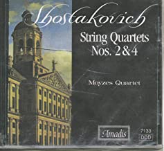 Shostakovich: String Quartets no 2 & 4
