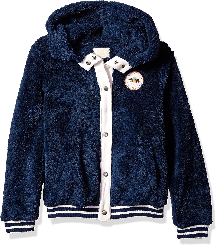 Roxy Girls Big Sound of Tree Zip Up Fleece Jacket