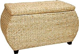 Oriental Furniture Rush Grass Storage Box - Natural