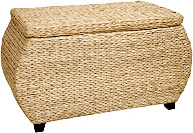 Oriental Furniture Rush Grass Storage Box - Natural