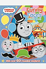Thomas The Tank Engine Funny Faces Sticker Book: `: ` Paperback