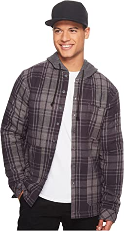 Billabong - Baja Sherpa Flannel Long Sleeve Top