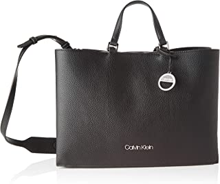 Calvin Klein Sided Tote Lg Luggage & Travel Gear, Black, 36 cm - K60K606353