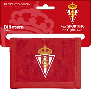 Gijon Official Real Sporting Wallet with Headboard, 125 x 95 mm