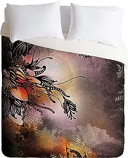 Deny Designs  Iveta Abolina Purple Rain Duvet Cover, King