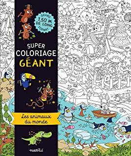 Amazon Fr Coloriage Geant