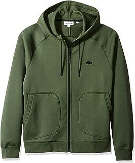 Lacoste Men's Long Sleeve Milano UNI Sweatshirt Sweater, Caper Bush, 3XL