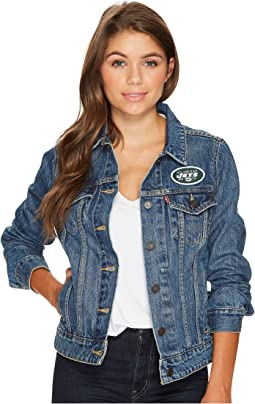 Levi's® Womens - NY Jets Sport Denim Trucker