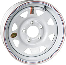 Arcwheel White Spoke Steel Trailer Wheel - 15