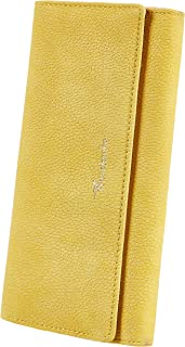 Womens Wallet Faux Leather RFID Blocking Purse Credit Card Clutch