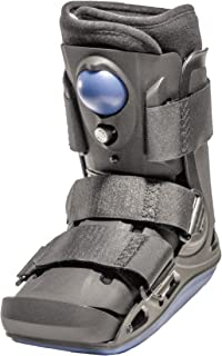 Light Weight Low Profile Full Shell Short Air Cam Walker Fracture Boot (Large)