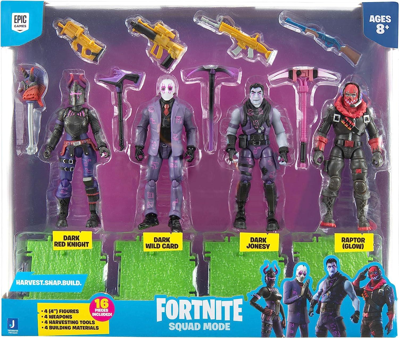 "Fortnite 4 Squad mode VICTOIRE série 12/"" Figurine crâne Panda Yonder Knight"
