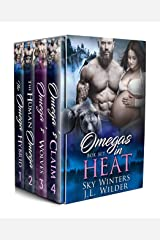 Omegas In Heat: A Four Book Box Set Kindle Edition