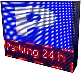 Rótulo LED programable Especial Parking (64x48 cm ...