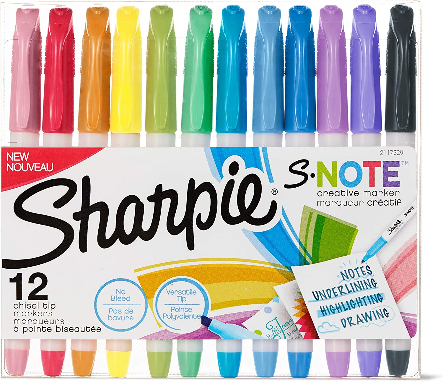 Sharpie S-Note Max 46% OFF Creative Markers Colorado Springs Mall Highlighters Assorted Colors