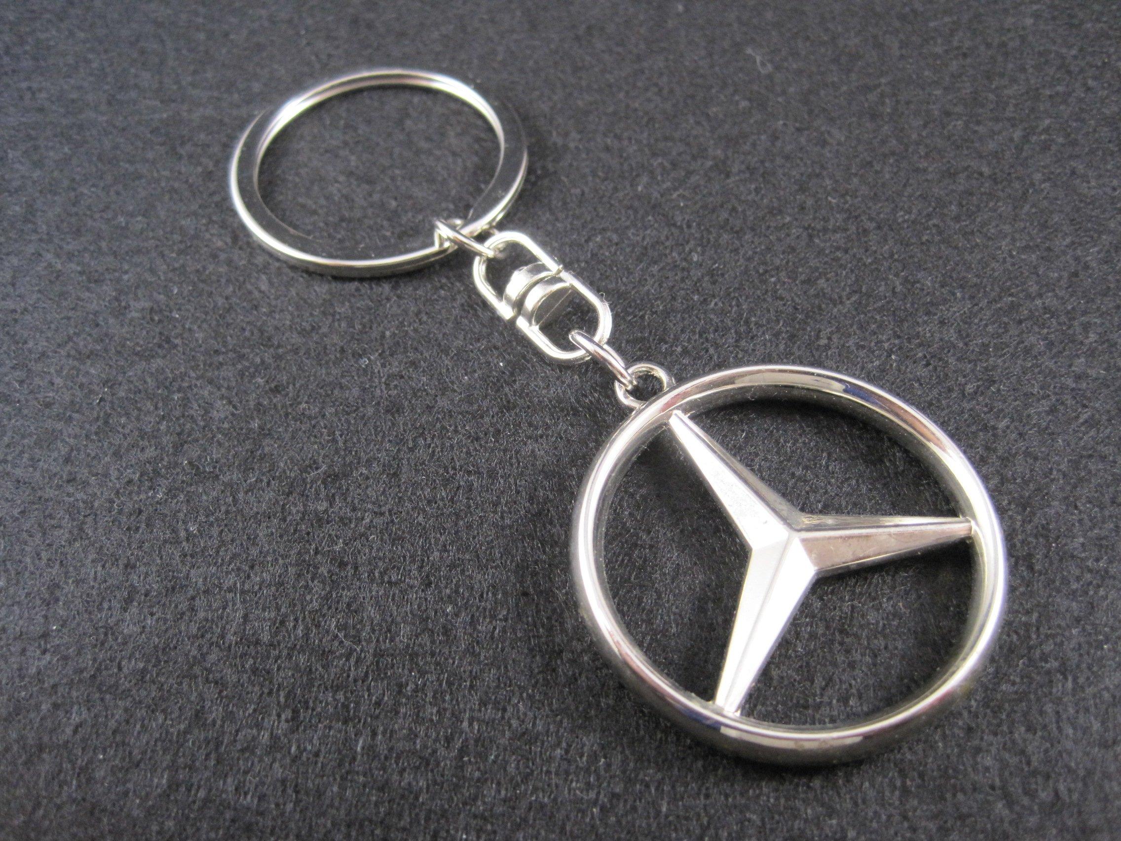 Llavero de metal compatible con Mercedes (M1) lla001-24: Amazon.es ...