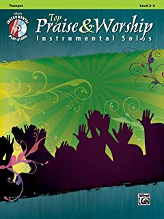 Top Praise & Worship Instrumental Solos - Trumpet