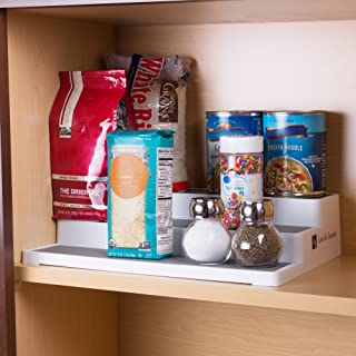 3 Tier Spice Step Shelf- Kitchen Cabinet, Countertop and Pantry Spices and Seasoning Organizer by Lavish Home (Great for H...