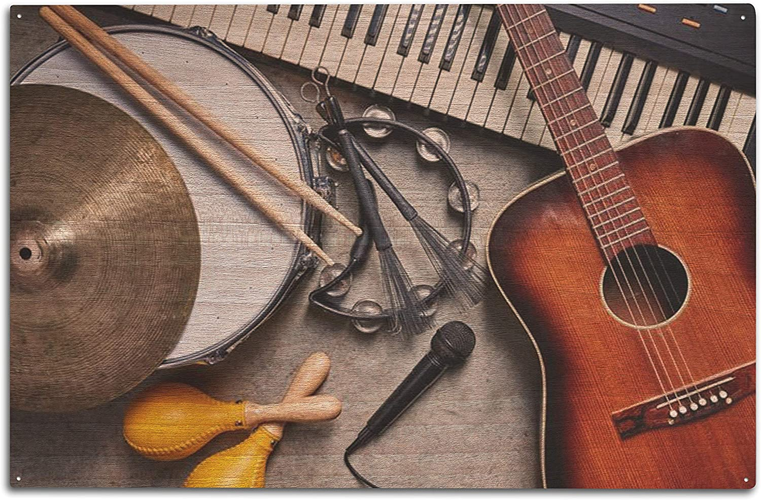 Lantern Press Group of Year-end annual account OFFicial store Musical D Instruments a Guitar Including