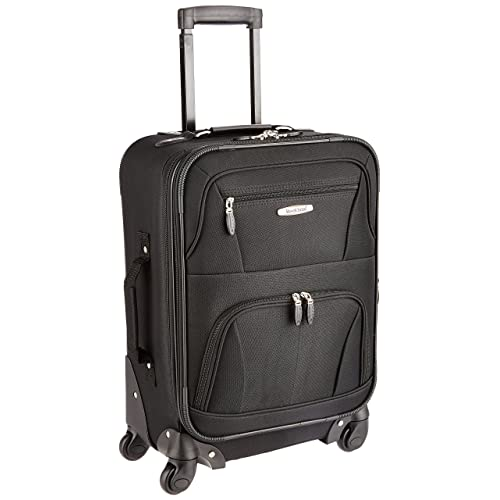 d8916813b31f Rockland Luggage 19 Inch Expandable Spinner Carry On