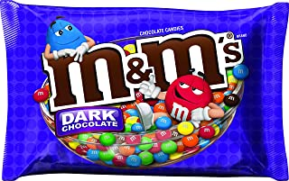 M&M's Dark Chocolate Candy 19.2-Ounce Bag (Pack of 4)