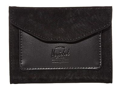 Herschel Supply Co. Orion Wallet (Black) Wallet Handbags