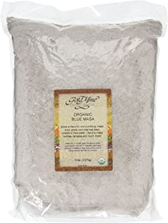 Gold Mine Blue Corn Masa Harina - USDA Organic - Macrobiotic, Vegan, Kosher and Gluten-Free Flour for Healthy Mexican Dish...