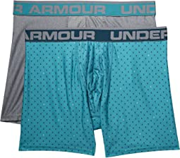 "UA Original Series 6"" Printed Boxerjock® 2-Pack"