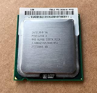 SL9QQ Intel Pentium D 945 3.40 GHz 800MHz 4MB LGA775