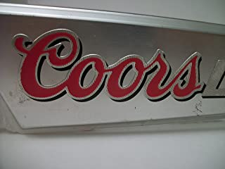 Coors Light Mountains Lucite Beer Tap Handle | Draft Handle | Tap Marker