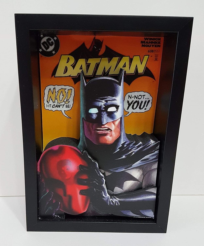 Batman Picture Framed 3D Art Phoenix Mall Bruce Crusa 5 popular Wayne Knight Dark Caped