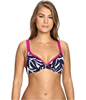 Tommy Bahama - Graphic Jungle Double-Strap Over-the-Shoulder Bikini Top