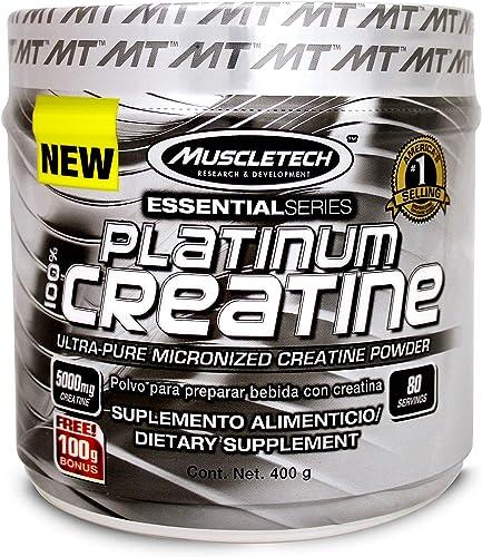 Muscletech ES Platinum Creatine, 400 g
