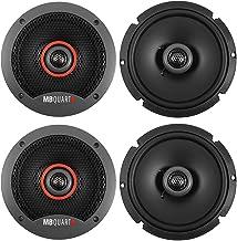 """$63 » (4) MB QUART FKB116S 6.5"""" 240 Watt Slim Shallow Mount Car Audio Speakers"""