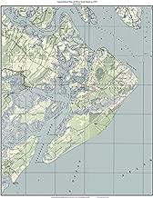 Hilton Head Island 1948 Old Topographic Map USGS Custom Composite Reprint South Carolina