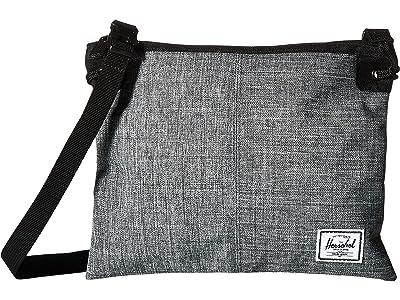Herschel Supply Co. Alder (Raven Crosshatch) Cross Body Handbags