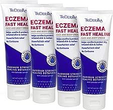 TriDerma Eczema Fast Healing cream Value 4-Pack