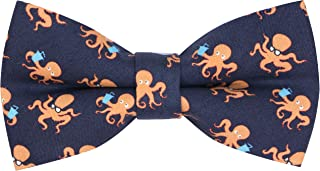 OCIA Pattern Bow Tie Pre-tied Adjustable Bowtie for Mens & Boys - Various Patterns