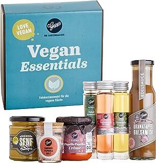Gepp's Feinkost Vegan Essentials Geschenkbox I Gefüllt mit veganen Köstlichkeiten, hergestellt nach eigener Rezeptur I Tol...