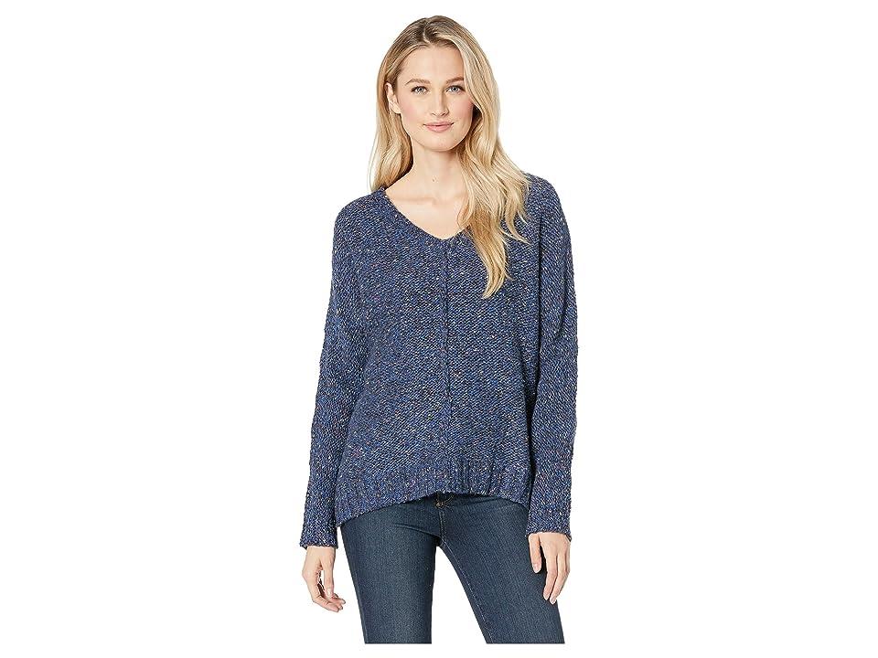 Lucky Brand Multicolor Sweater (Blue Multi) Women