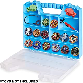 ASH BRAND Super Durable Carrying Case - Battle Spinners Toys Organizer | Blade Storage Box (Hurricane)