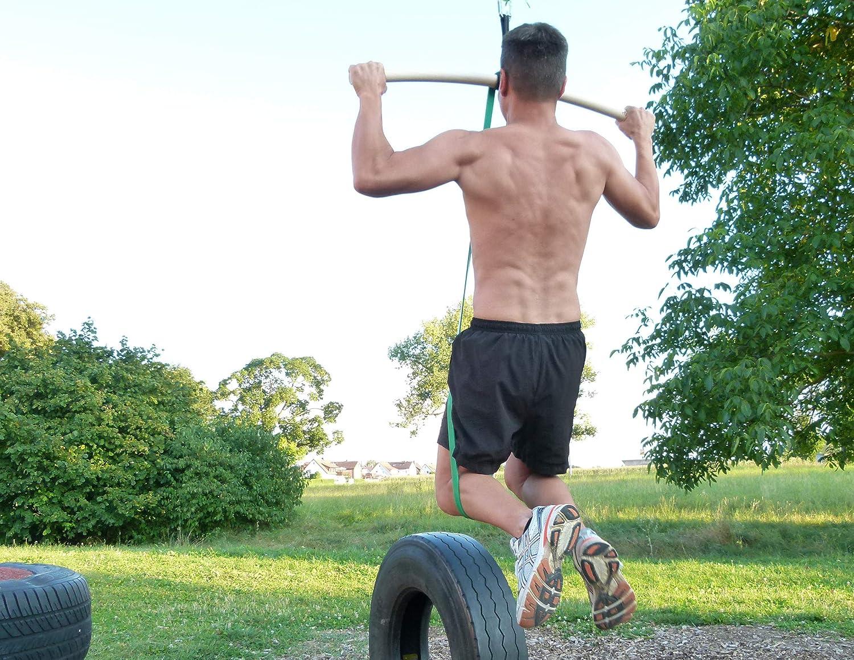 eaglefit Correa de Fitness látex Natural, Pull-up Aid y Entrenamiento de Fuerza
