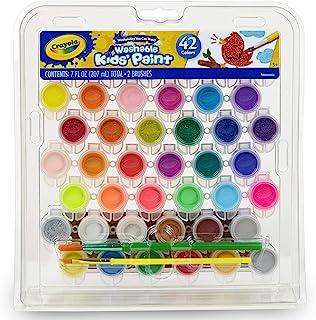 Crayola 42 Washable -Paint Pots Set, 1 of Piece