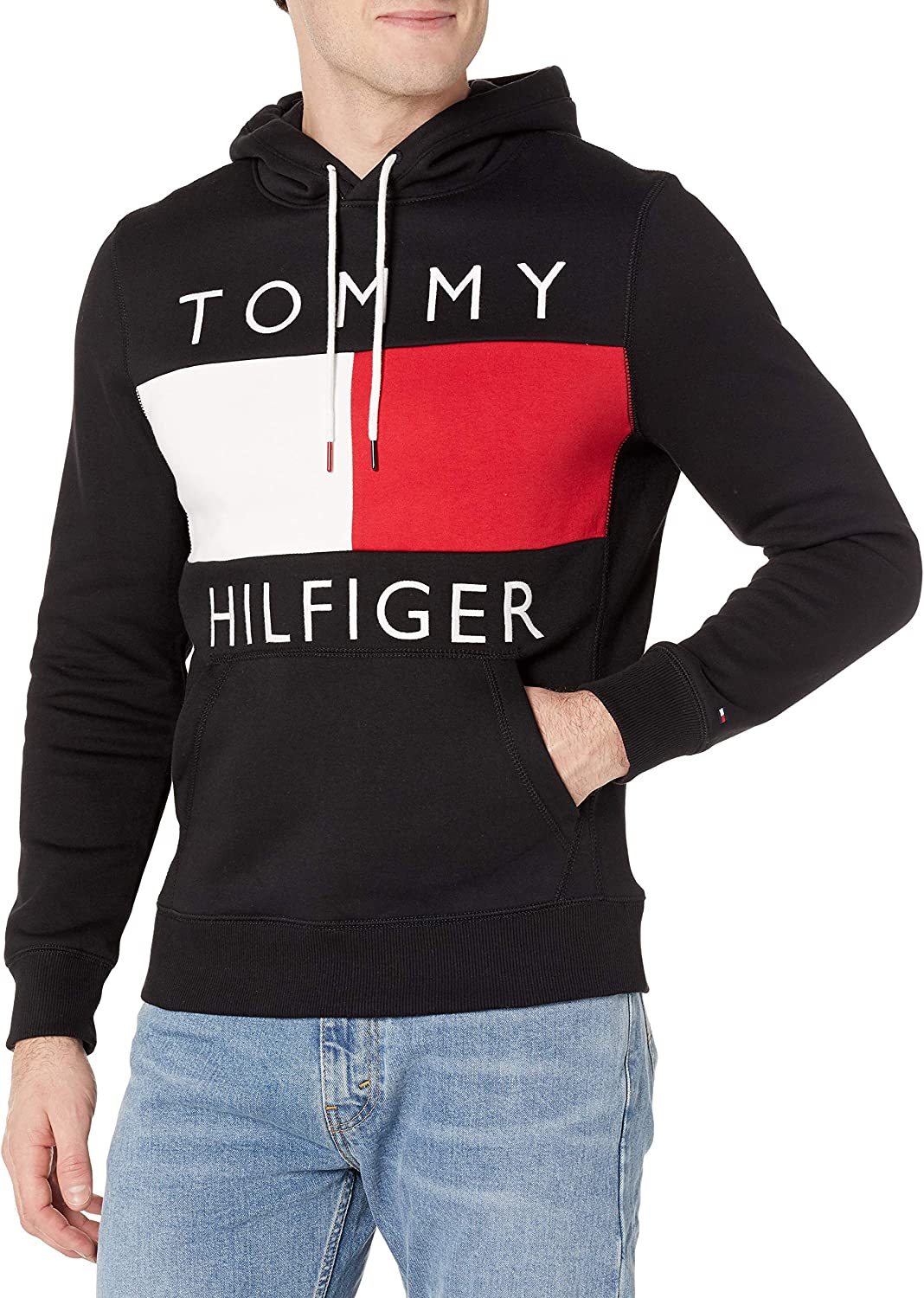 Tommy Hilfiger Men's Sale All stores are sold item Hoodie Sweatshirt