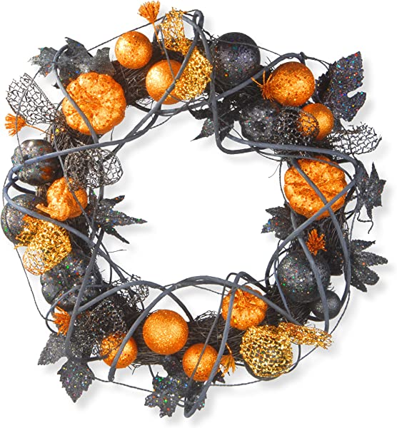 National Tree Halloween Wreath