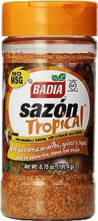 Badia Sazon Tropical with Annato & Corlander, 6.75-Ounce (Pack of 6)