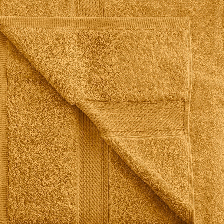 Denim Blue SUPERIOR Egyptian Cotton Solid Towel Set 2PC Bath 2 Piece